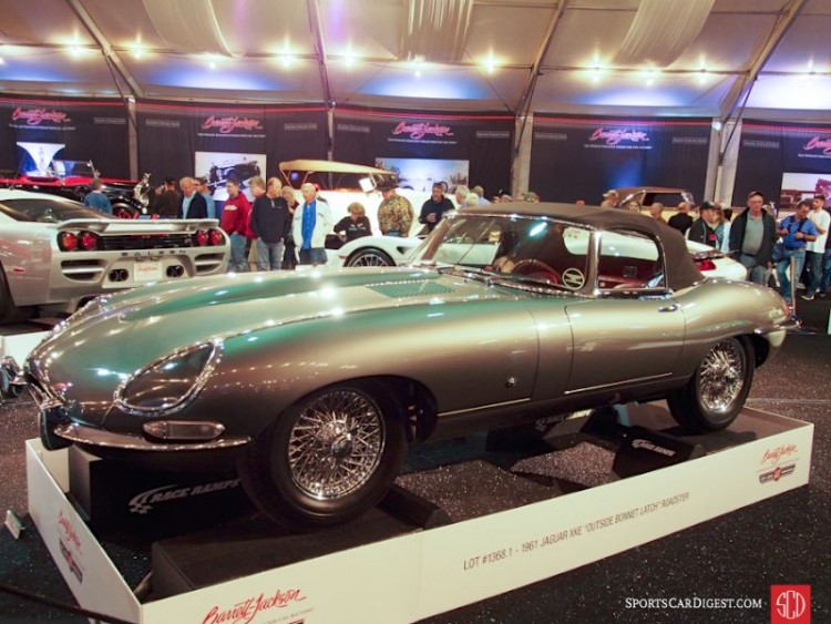 1961 Jaguar XKE SI flat floor Roadster