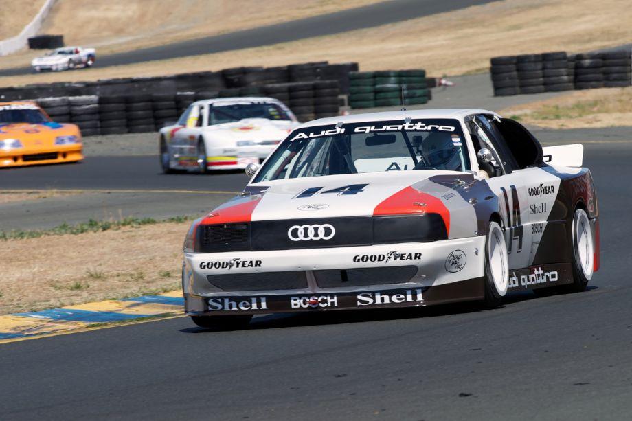 1988 Audi 200 Quattro driven by Steve Zlotkin in ten.