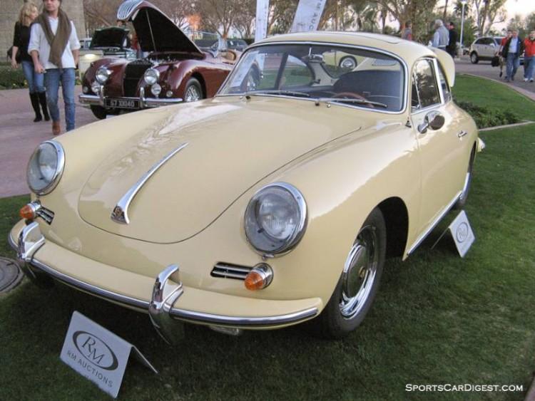 1964 Porsche 356C 1600 SC Coupe, Body by Reutter