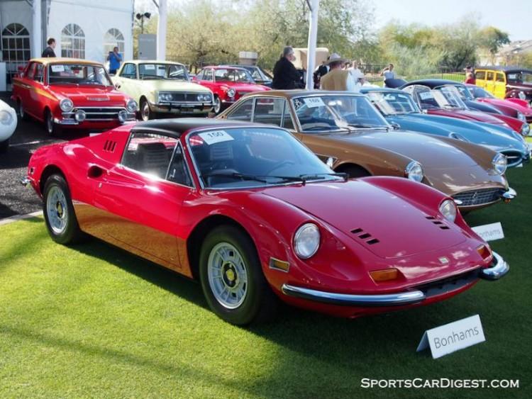 1972 Ferrari 246 GTS Dino Spider, Body by Scaglietti