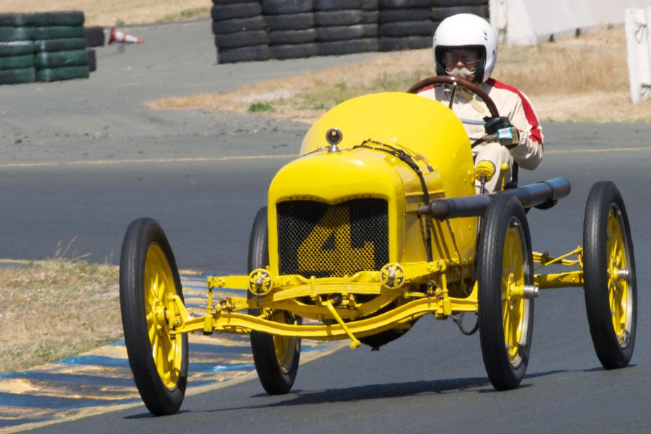 Ed Archer in his wonderful 1915 Ford T.