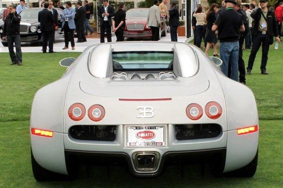 New Bentleys and Bugatti Veyron - Quail Motorsports Gathering 2011. Photo William Edgar