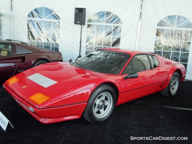 1982 Ferrari 512 BBi Coupe, Body by Scaglietti
