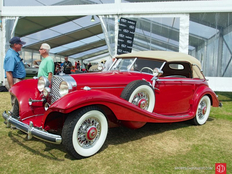 1939 Mercedes-Benz 540K Cabriolet A, Body by Sindelfingen