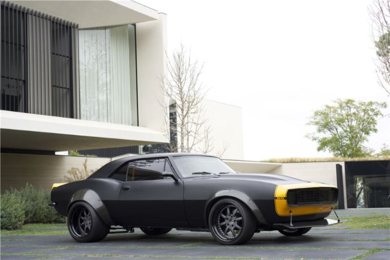 "1967 Chevrolet Camaro SS ""Transformer's Bumble Bee"" Movie Car"