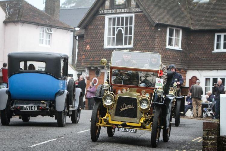 1903 Clement driven by Tim Watson, Crawley