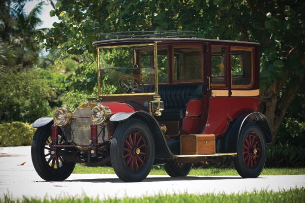 <strong>Lot 235 1914 Mercedes 22/50PS Town Car - Estimate $300,000-$380,000.</strong> Brewster Coachwork.