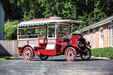 1915 Cretors Model C Popcorn Wagon