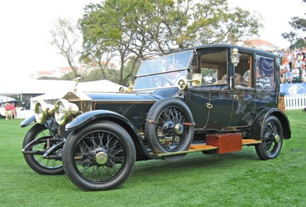 1915 Rolls-Royce Silver Ghost Limousine, John M. O'Quinn Collection, Houston, TX