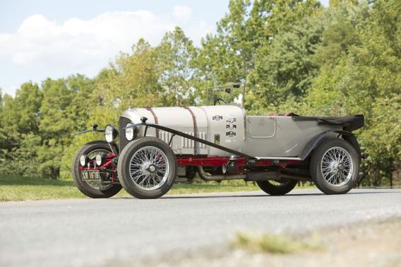 1924 Bentley 3-Litre Red Label Speed Model Tourer (photo: Pawel Litwinski)