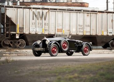 1927 Stutz Vertical Eight Black Hawk Custom Two-Passenger Speedster (photo: Drew Shipley)