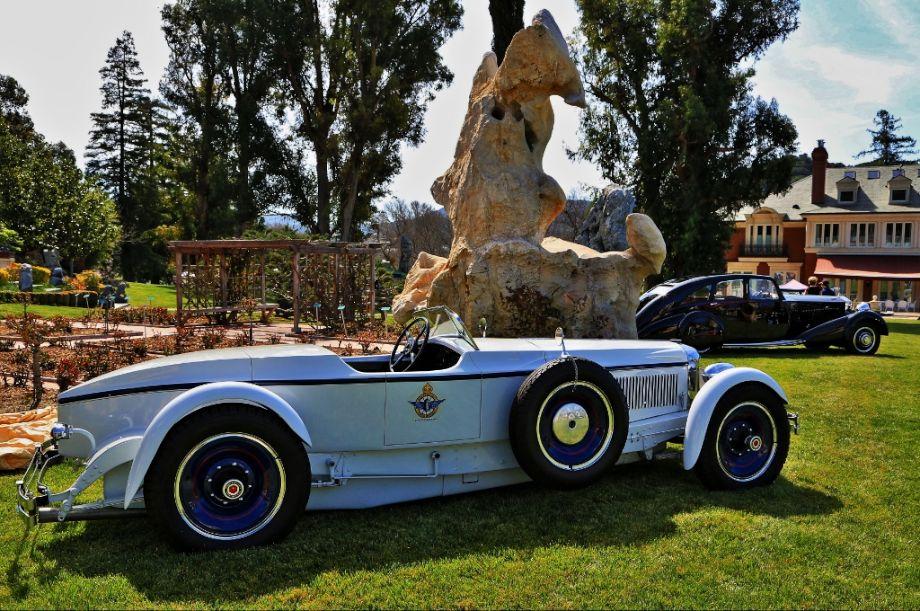 1928 Packard Boattail Speedster and 1933 Rolls-Royce Streamline Saloon