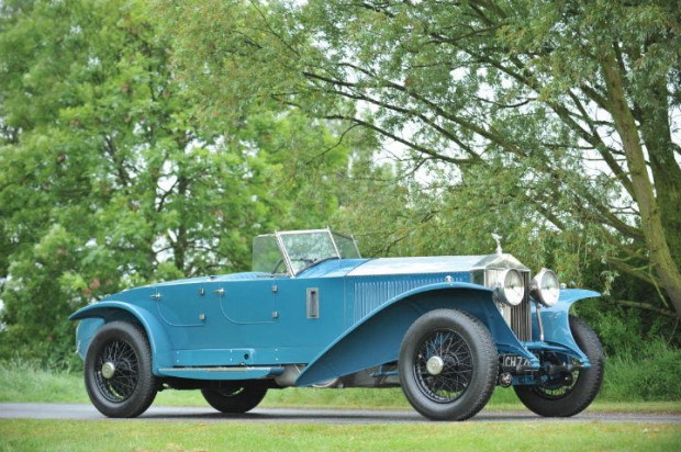 <strong>Lot 253 - 1928 Rolls-Royce Phantom I Jarvis Torpedo - Estimate $815,000-$1,300,000.</strong> Coachwork by Jarvis of Wimbledon; last of just four lightweight experimental sporting examples with fascinating Indian provenance.