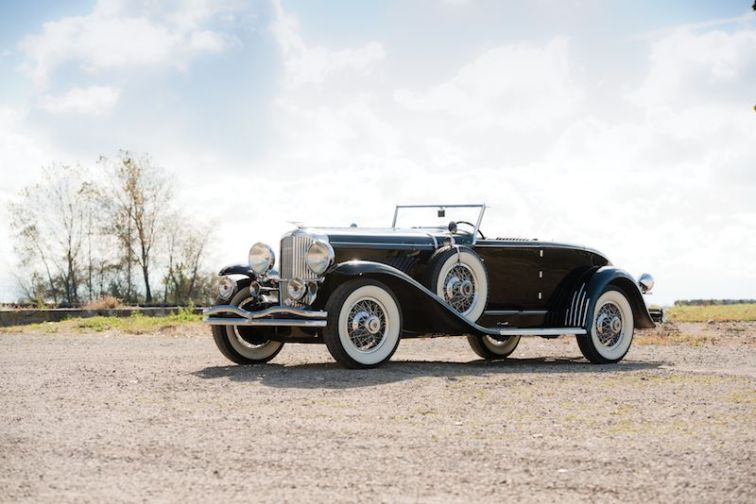 1930 Duesenberg Model J Convertible Coupe