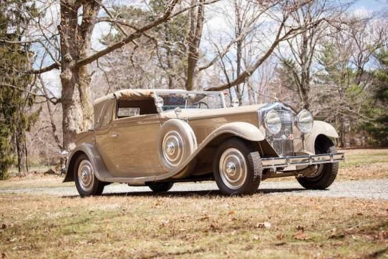 1930 Minerva AL Cabriolet by Van den Plas (photo: Erik Fuller)