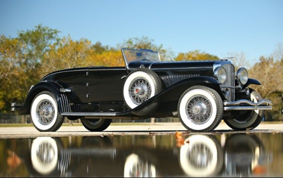 1931 Duesenberg Model J Disappearing-Top Convertible Coupe