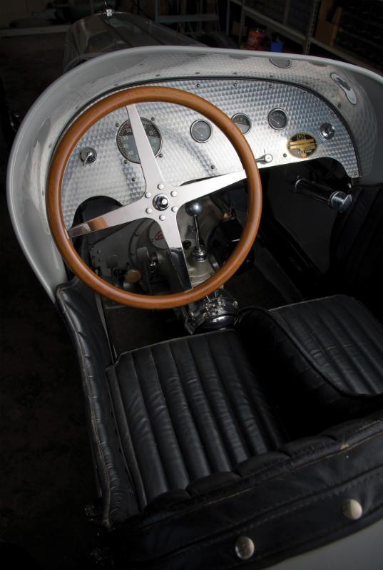 1931 Miller V16 Racing Car Car Profile