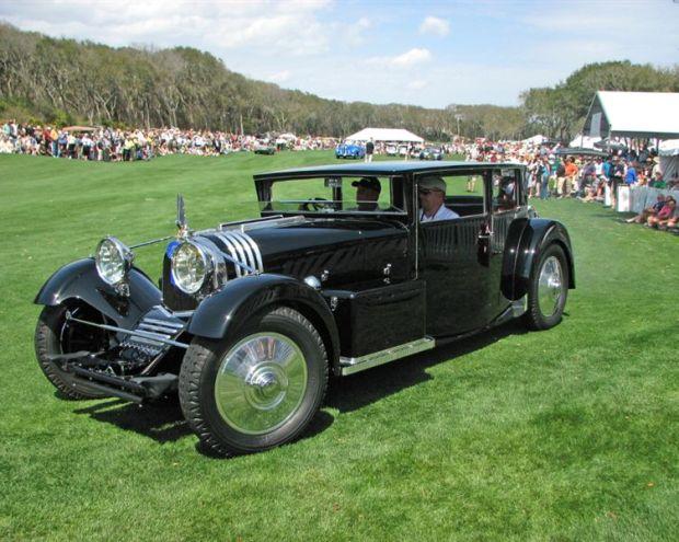1931 Voisin C20 Demi-Berline won Best of Show, Concours d'Elegance at the 2009 Amelia Island Concours d'Elegance
