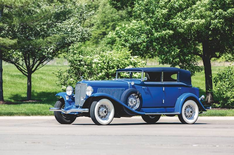 1932 Auburn Twelve Custom Phaeton Sedan (photo: Teddy Pieper)