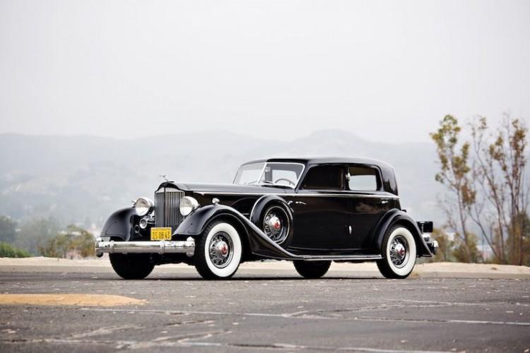 1934 Packard Twelve 1108 Sport Sedan by Dietrich
