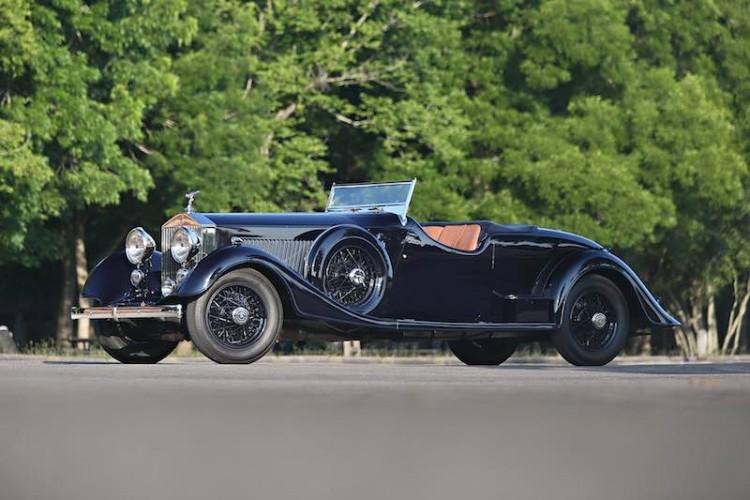 1934 Rolls-Royce Phantom II Continental Two-Seat Drophead Coupe (photo: Mathieu Heurtault)