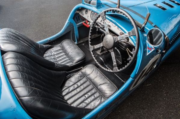 1935 Delahaye 135 S Interior (photo: Simon Clay)