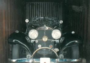 1936 Mercedes-Benz 540K Special Roadster in crate