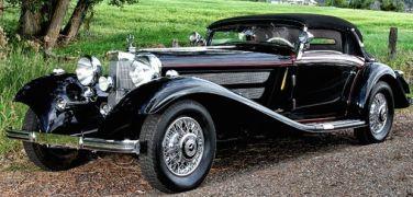 1936 Mercedes-Benz 540K Sport Cabriolet