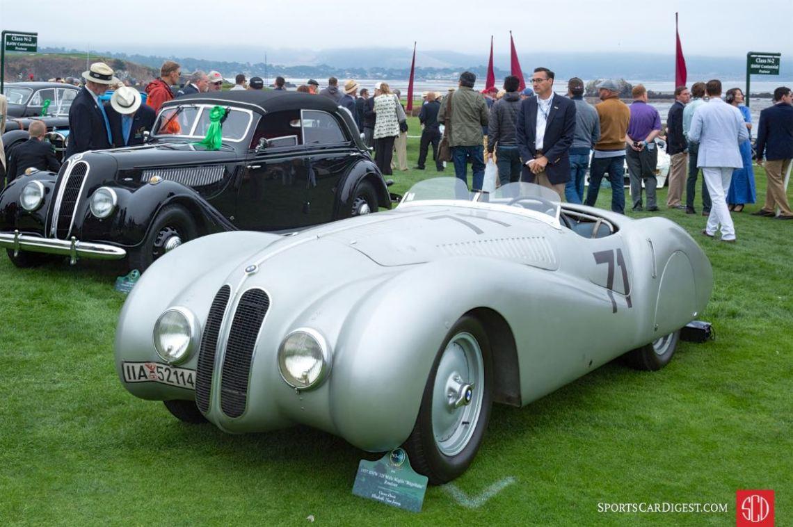 1937 BMW 328 Mille Miglia Bugelfalte Roadster