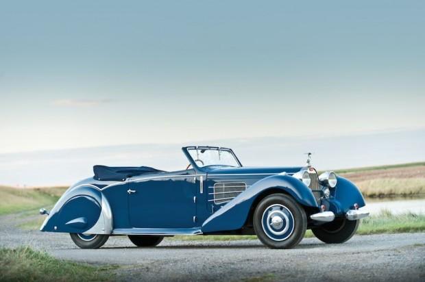 1937 Bugatti Type 57 Stelvio Cabriolet