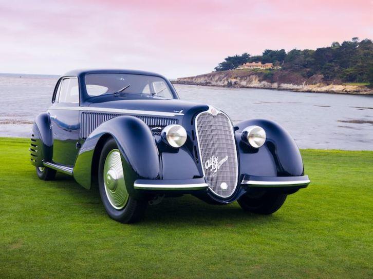 Designs by Carrozzeria Touring Feature - 1938 Alfa Romeo 8C Touring Berlinetta