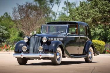 1938 Packard Super Eight Sedanca deVille by Barker (photo: David McNeese)