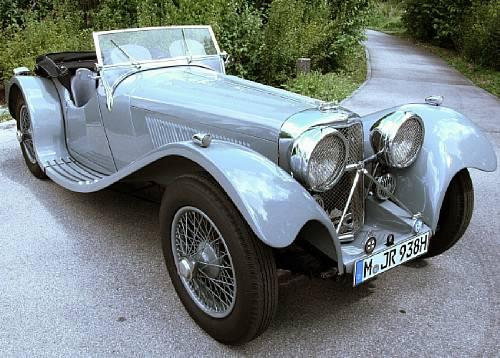 1938 SS100 Jaguar