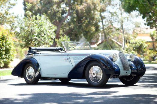 1938 Talbot-Darracq T23 Drop Head Coupe