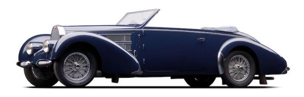1938 Bugatti Type 57C Cabriolet (photo: Michael Furman)