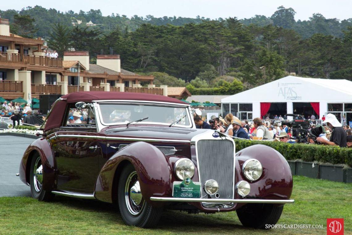 1939 Delage D8-120 Chapron Cabriolet