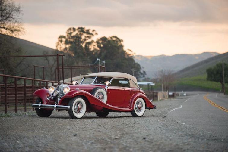 1939 Mercedes-Benz 540 K Spezial Cabriolet A by Sindelfingen (photo: Darin Schnabel)