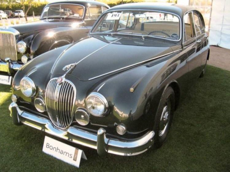 1963 Jaguar Mk 2 3.8 4-Dr. Sedan