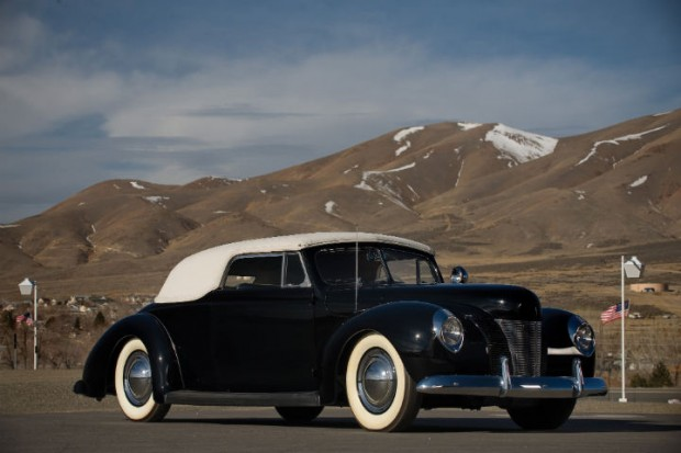 <strong>1940 Ford Convertible Coupe - Estimate $200,000 - $300,000.</strong> One of the first 'Valley Custom' creations; won at Pebble Beach Concours in 2005 and San Francisco Rod & Custom Show in 2006.