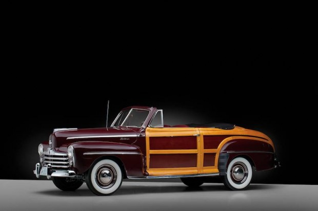 1947 Ford Super Deluxe Sportsman Convertible