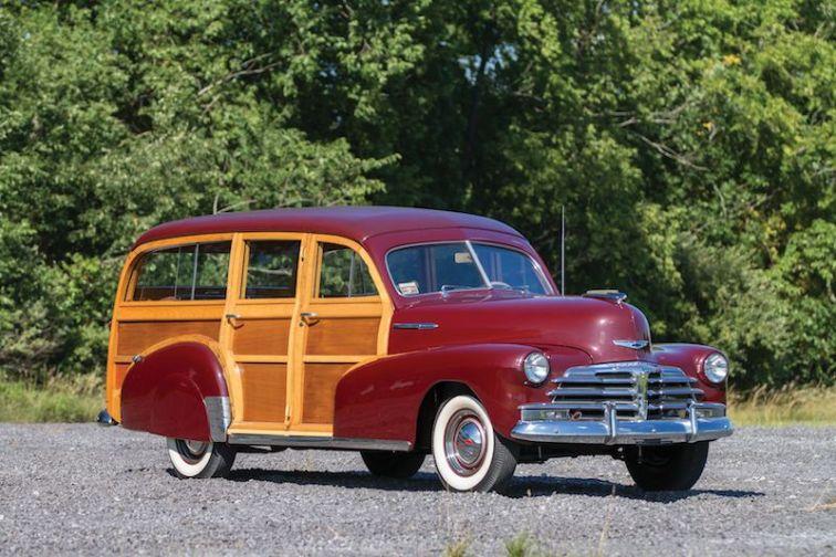 1948 Chevrolet Fleetmaster Station Wagon
