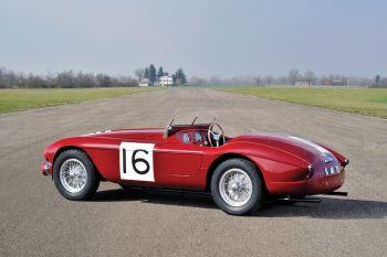 1951 Ferrari 340 America Barchetta by Touring (photo: Tim Scott)