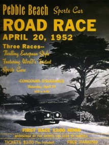 1952 Pebble Beach Road Race Program