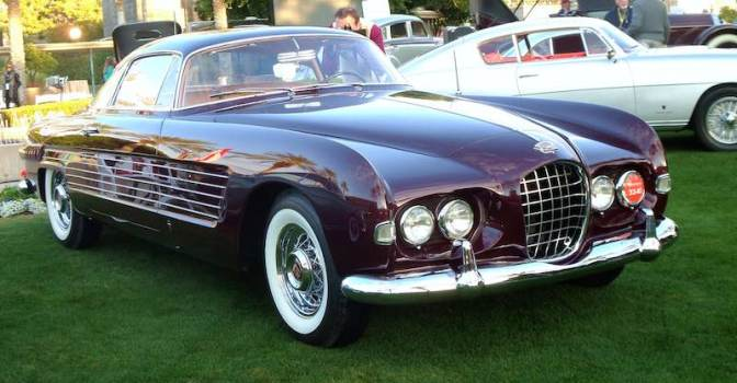 1953 Cadillac Series 62 by Ghia 'Rita Hayworth Cadillac' (photo: Bob Golfen)