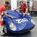 Ferrari 500 Mondial Restored for Pebble Concours 2015