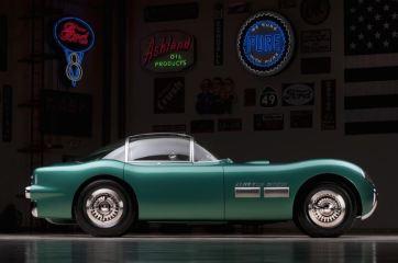 1954 Pontiac Bonneville Special Motorama Concept Car Side