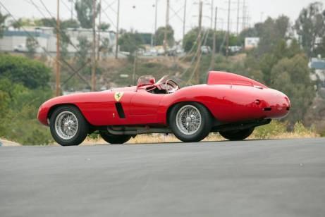 1955 Ferrari 750 Monza Spider Rear