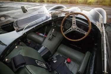 1955 Jaguar D-Type Interior (photo: Patrick Ernzen)