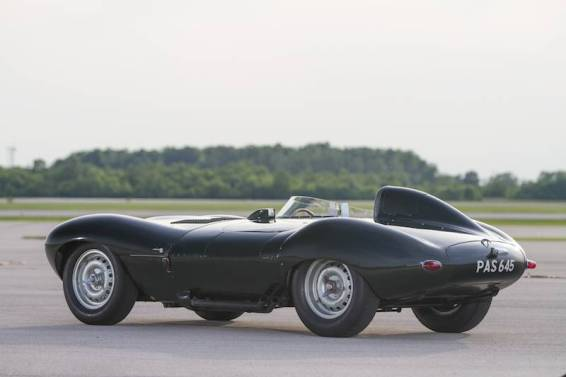 1955 Jaguar D-Type XKD530 Rear