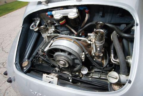 1955 Porsche 356 Emory Special Engine